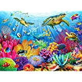 Ravensburger Tropical Waters 500 Piece Jigsaw Puzzle for Adults – Every Piece is Unique, Softclick Technology Means Pieces Fi
