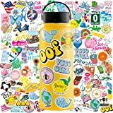 Aesthetic Stickers, 100 Pack Cute Stickers for Water Bottles, VSCO Stickers for Teens, Waterproof Stickers for Water…