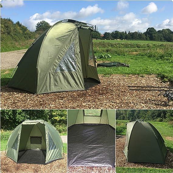 Quest Shelter MK2 - Tienda de campaña para Pesca de Carpa (1 Persona): Amazon.es: Deportes y aire libre