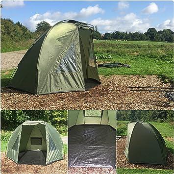 Quest Shelter MK1 Carp Fishing Bivvy Overnight 1 Man Brolly 2 Tent & Quest Shelter MK1 Carp Fishing Bivvy Overnight 1 Man Brolly 2 Tent ...