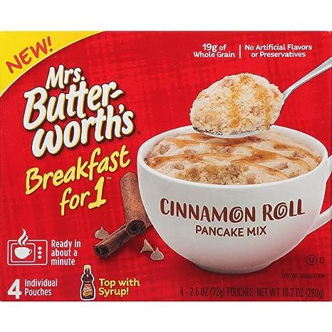 Sra. Butterworths Breakfast for 1, Single Serve Pancake Mix ...