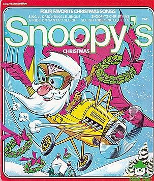snoopys christmas 45 rpm vinyl extended play 7 - Snoopys Christmas