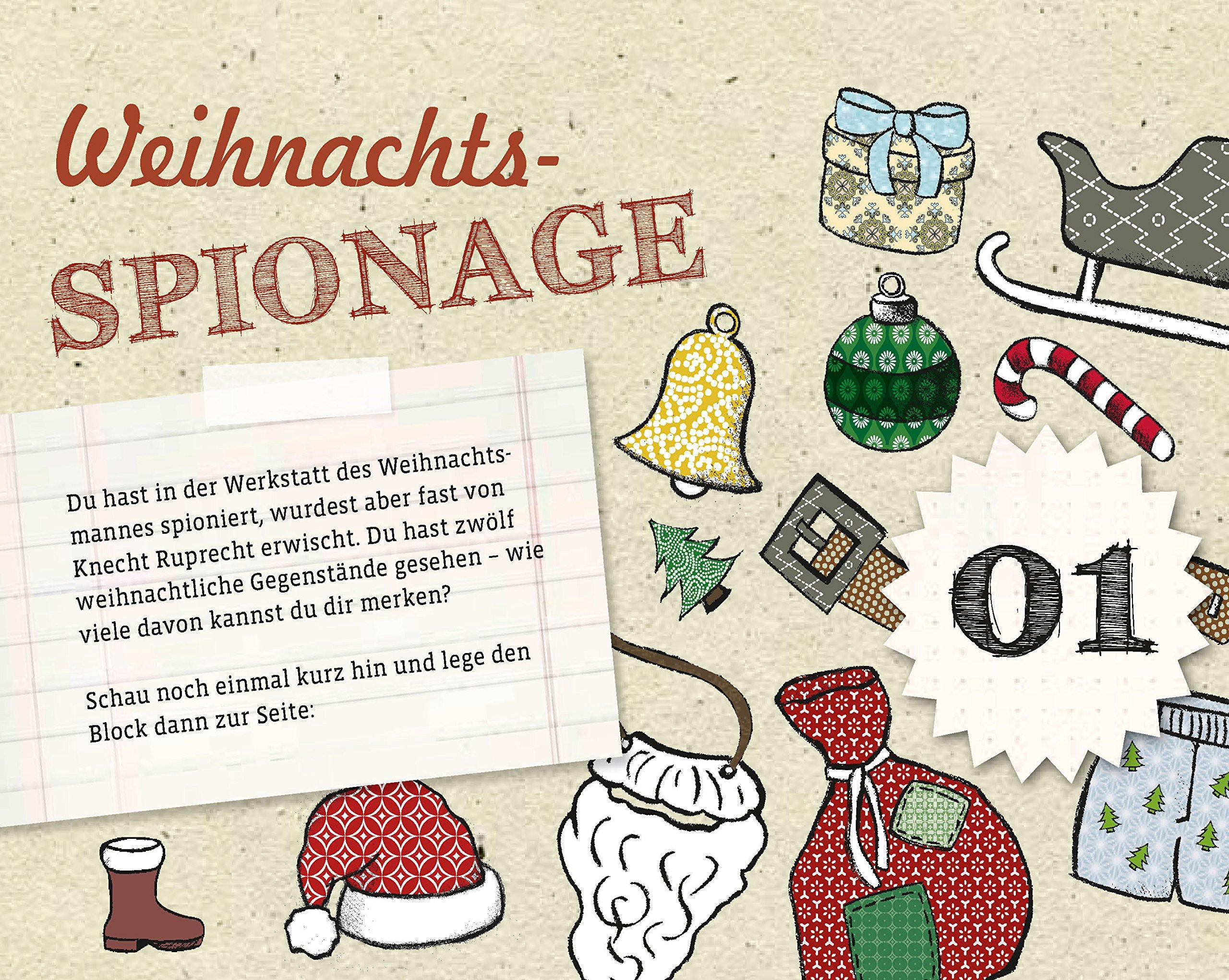 Rätsel Weihnachten Erwachsene.Der Ultimativ Knifflige Advents Rätsel Kalender 24 X Ratespaß Bis
