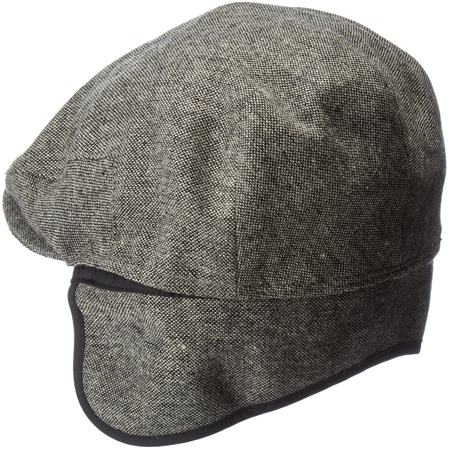 11846b56a1f33 Country Gentleman Men s Ainsley Flat Ivy Cap with Ear Laps at Amazon Men s  Clothing store