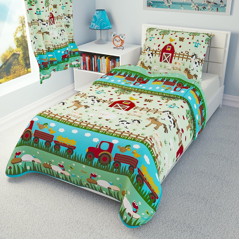 Babies Island IKEA Cot Bedding Duvet Cover Pillowcase 110 x 125 cm - many designs available (Farm) Babies-Island