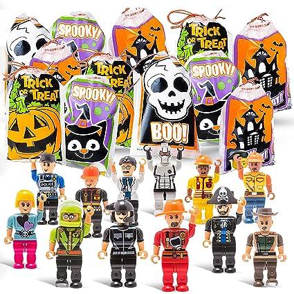 Amazon.com: Halloween truco o trato bolsas mini con ...