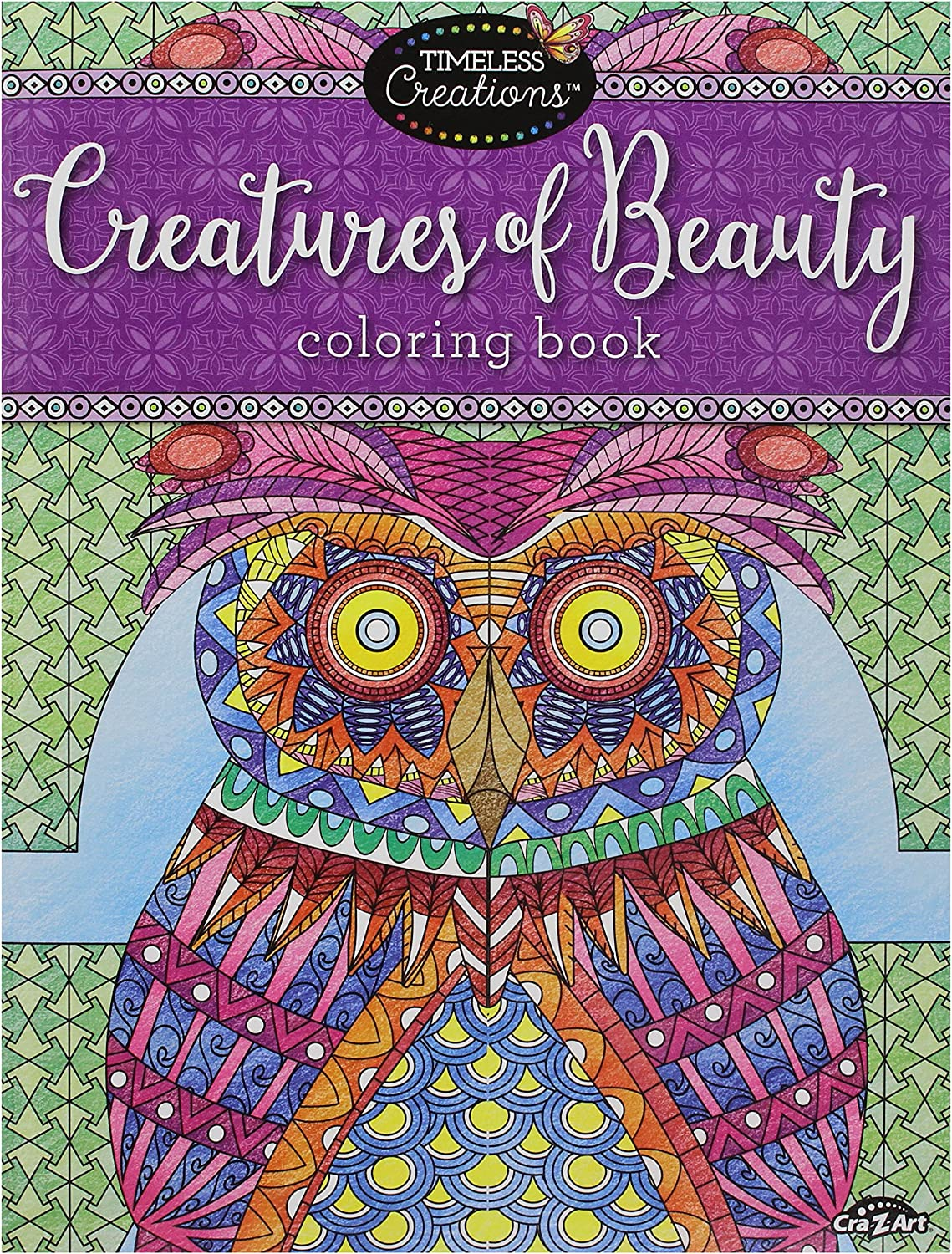 - Amazon.com : Cra-Z-Art Timeless Creations Adult Coloring Books