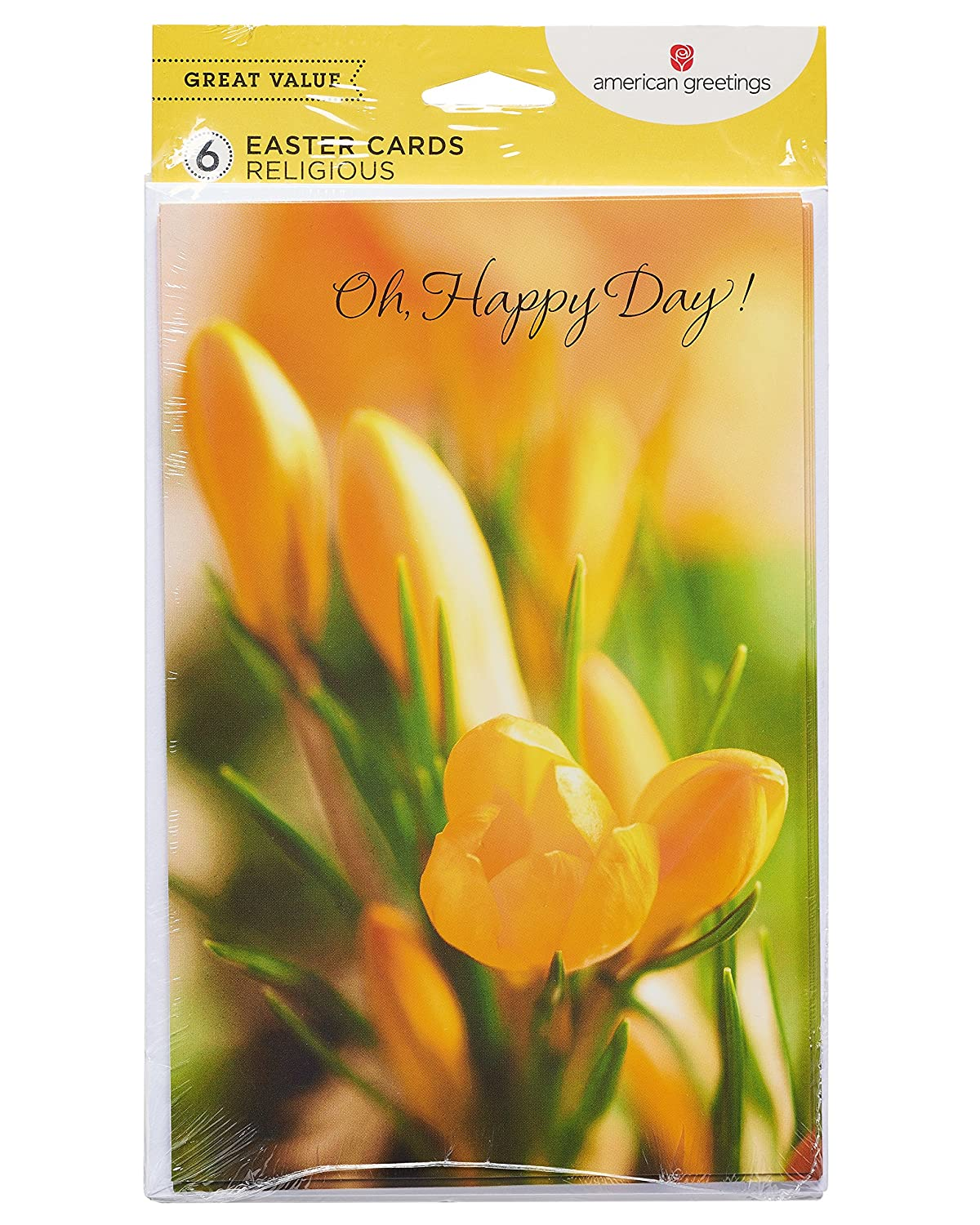 American Greetings Tulip Easter Card 6 Count Amazon Office