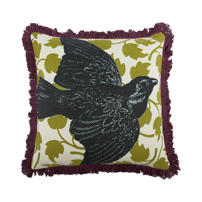 thomaspaul鳥枕、18インチ、チャコール   B00KS4NPV4