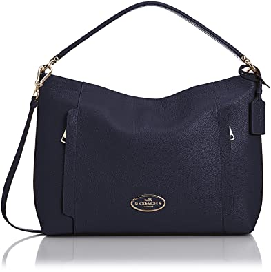 Coach Scout hobo in pebble leather: Handbags: Amazon.com