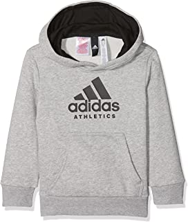 e945b1f3674ed Adidas - Sweat capuche gris jr - Sweat capuche hooded  Amazon.fr ...