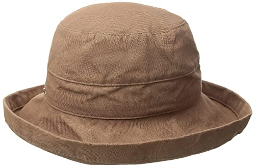 Scala Women's Medium Brim Cotton Hat