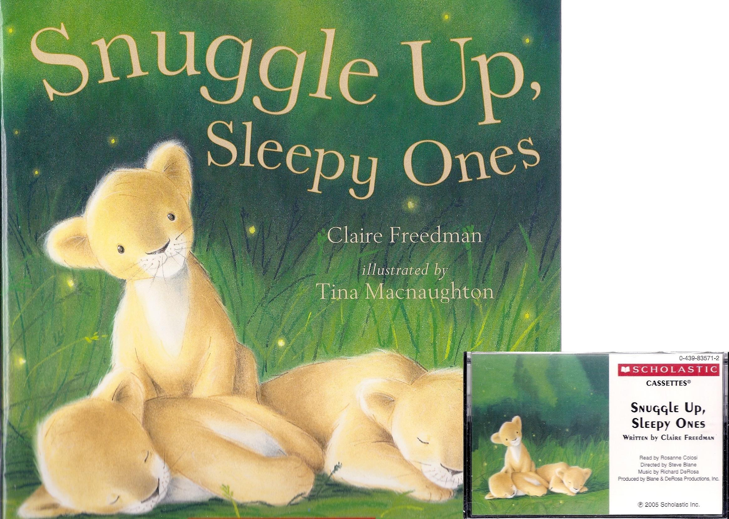 Snuggle Up, Sleepy Ones Book and Audiocassette Tape Set (Paperback Book and Audio Cassette Tape) pdf epub
