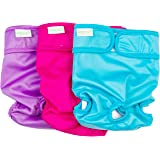 Wegreeco Washable Dog Diapers (Pack of 3)
