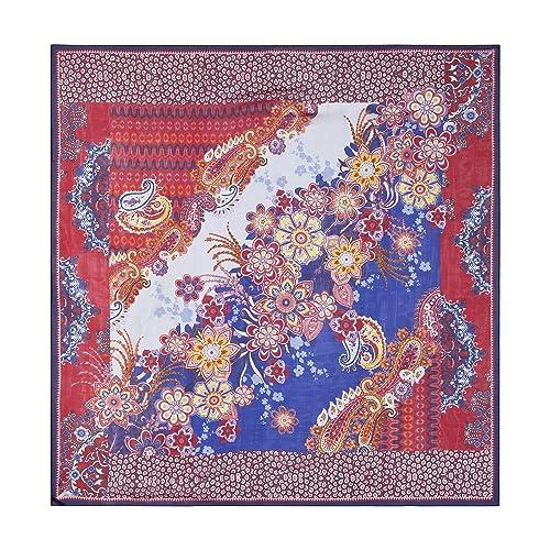 Rockangel – Hippie Patchwork 100×100, Scialle Donna