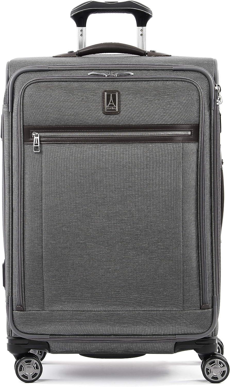 Bordeaux Travelpro Platinum Elite-Softside Expandable Spinner Wheel Luggage