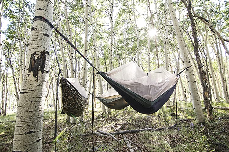 From the great outdoors to your own backyard, this is the perfect alternative to a tent, sleeping pad, ground mat, or swing