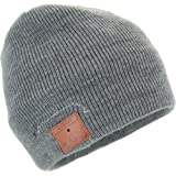 Tenergy Bluetooth Beanie with Basic Knit, Color Grey