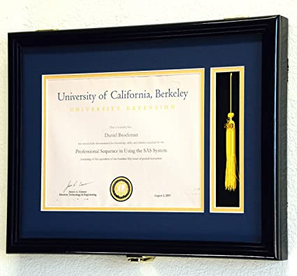 Amazon Com Sfdisplay Com Llc Custom Graduation Diploma Frame