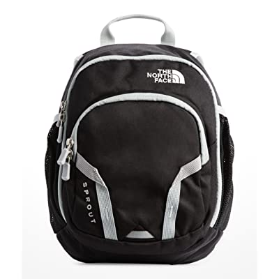 The North Face Youth Sprout Backpack - TNF Black & High Rise Grey - OS: Clothing