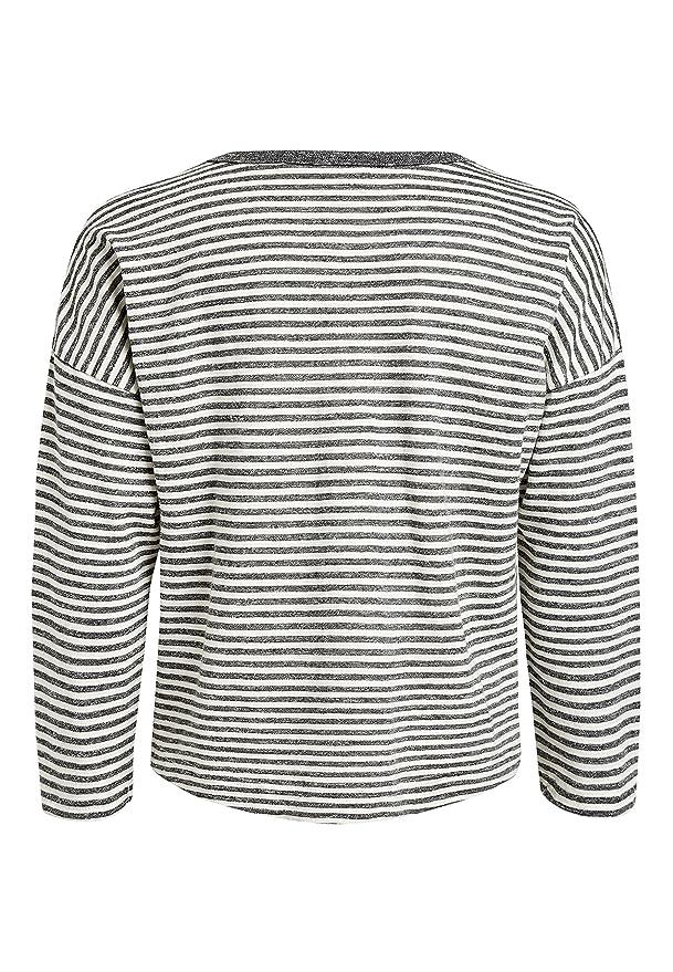 636ecd1d4b7a0 Next T-Shirt Oversize À Manches Longues (3 À 16 Ans) Fille Standard Gris 16  Ans  Amazon.fr  Vêtements et accessoires