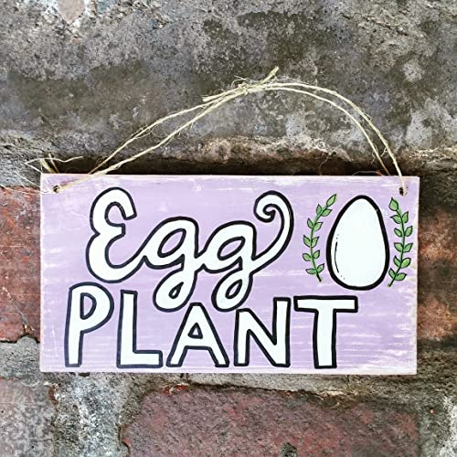 Egg Plant Wood Pallet Sign Chicken Coop Sign Hen House Sign Pallet Sign