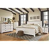 Amazon.com: Ashley B672 Prentice Bedroom Set – In Home White-Glove ...