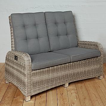 Exklusives Gartensofa für 2 Personen aus Poly Rattan für Ihre ...