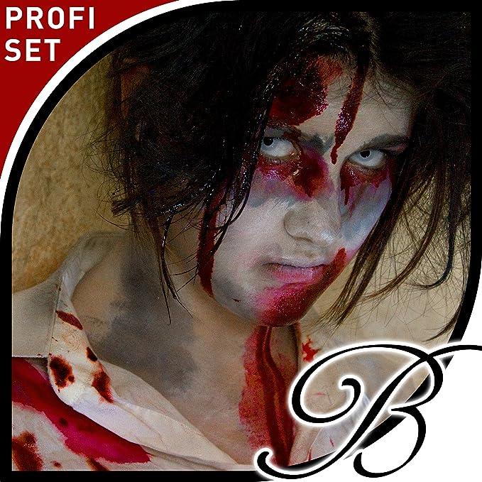 Halloween Zombie Schmink.Horror Latex Schminke Zombie Schmink Set Halloween