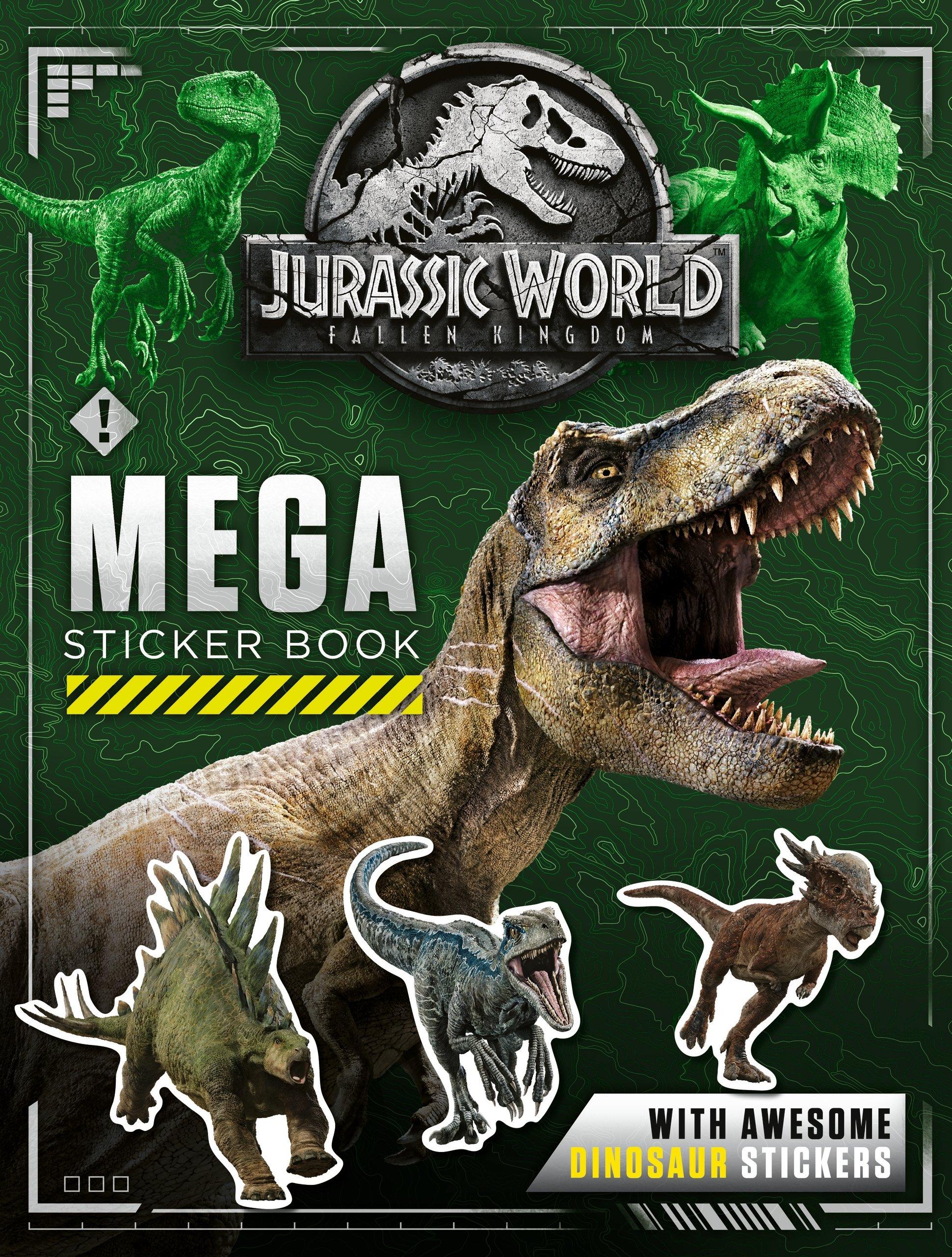 Jurassic World Fallen Kingdom Mega Sticker Book Sticker