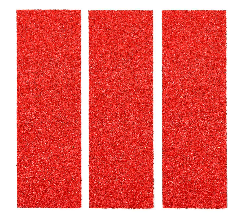Red Velvet Edition Teak Tuning Premium Fingerboard Skate Grip Tape 3 Sheets