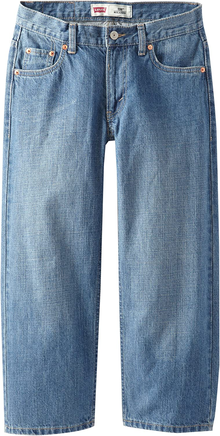 Levi's Boys' 550 Relaxed Fit Jeans: Clothing