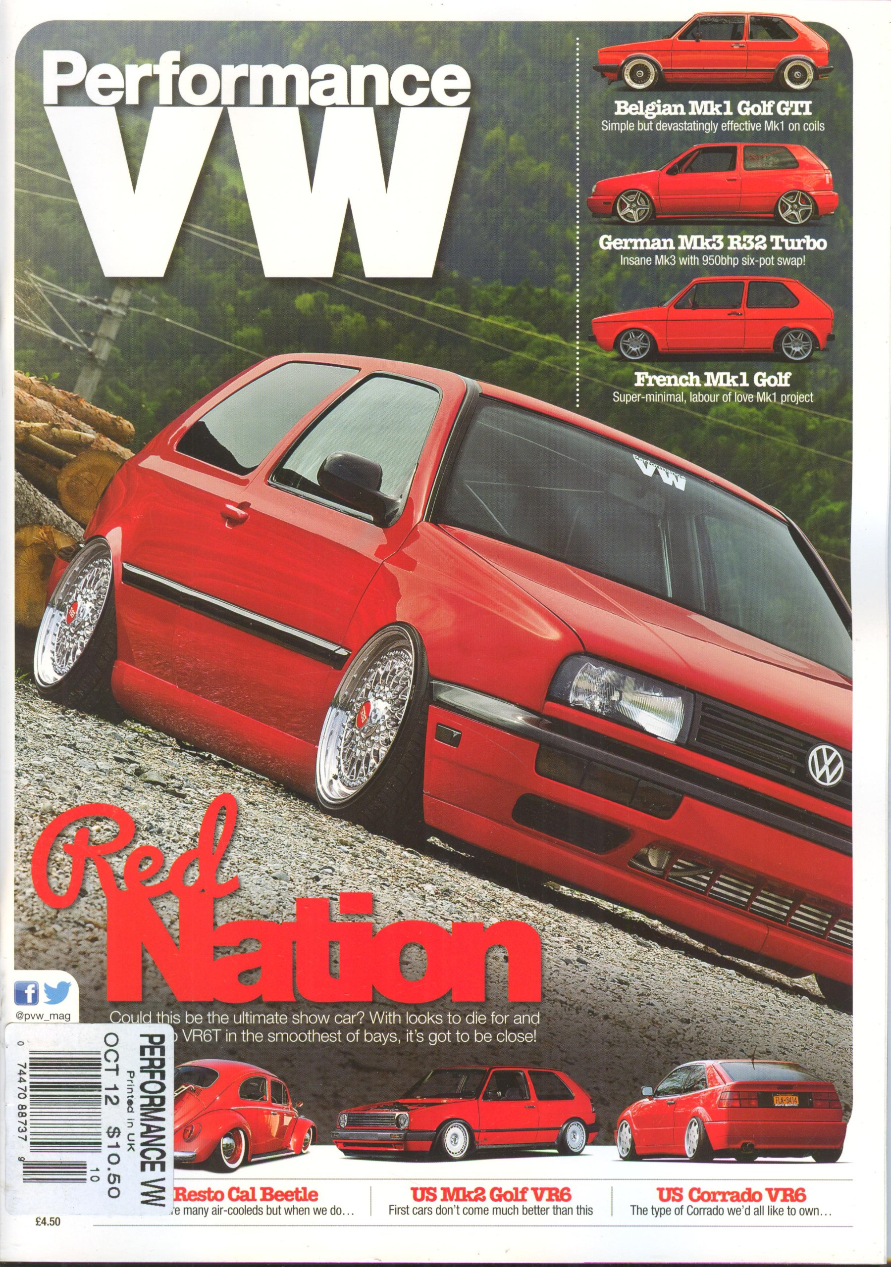 Performance VW (October 2012, German MK3 R32 Turbo): Elliott Roberts: Amazon.com: Books