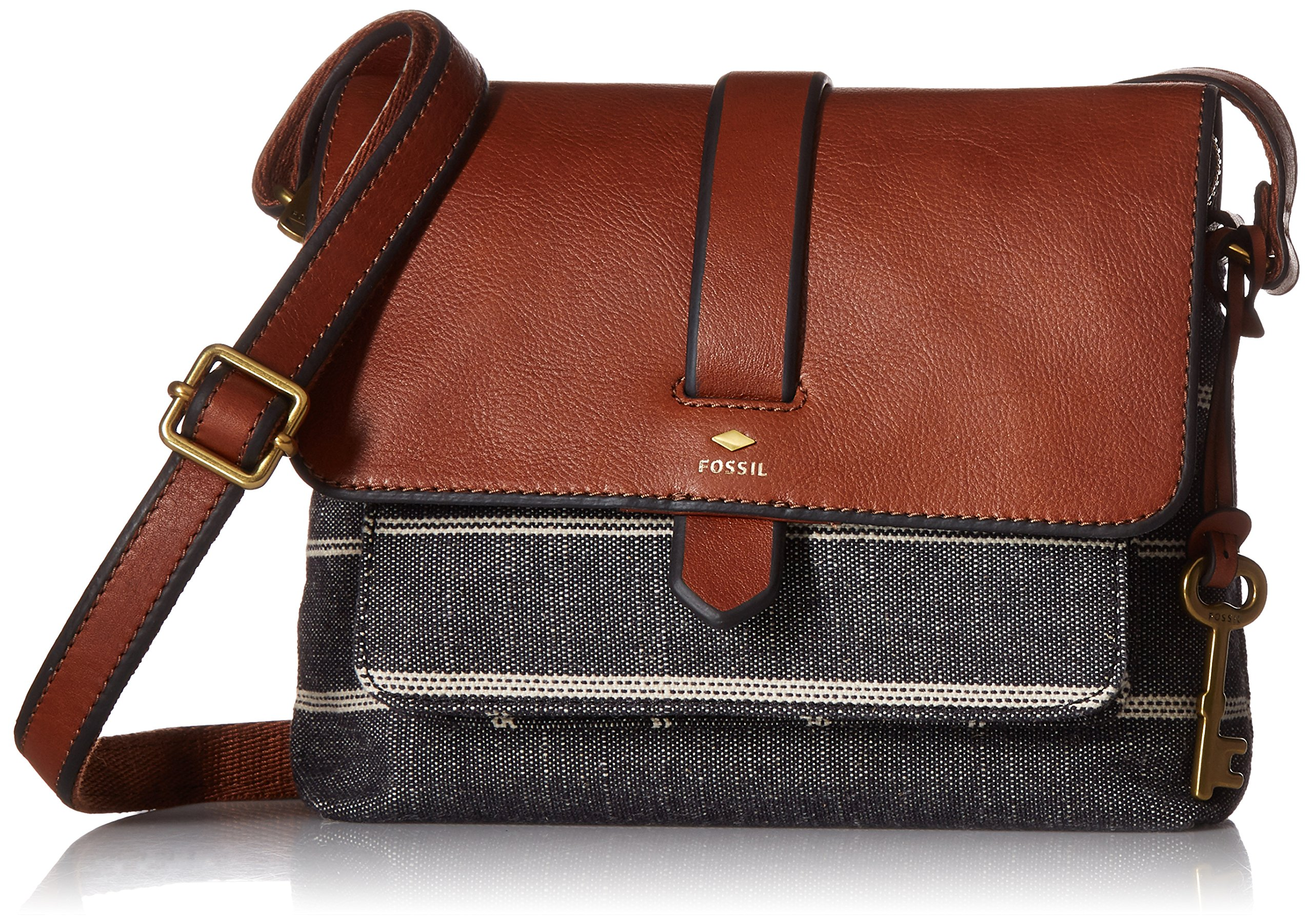 Fossil Kinley Small Crossbody Bag, Chambray,One Size