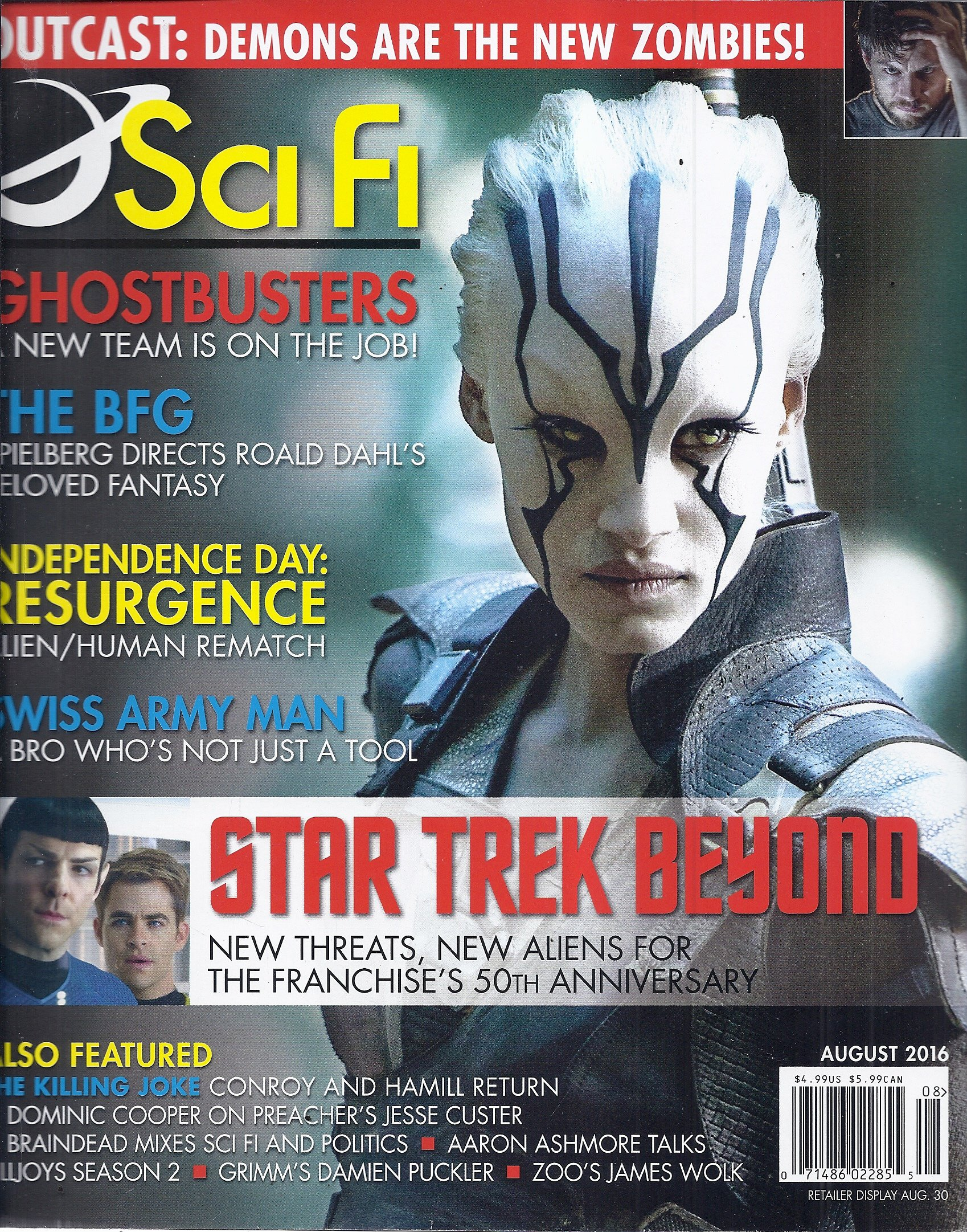 Download Sci Fi Magazine (August 2016 - Star Trek Beyond) ebook