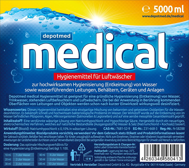Producto de higiene depotmed® medical Hygienemittel para ...