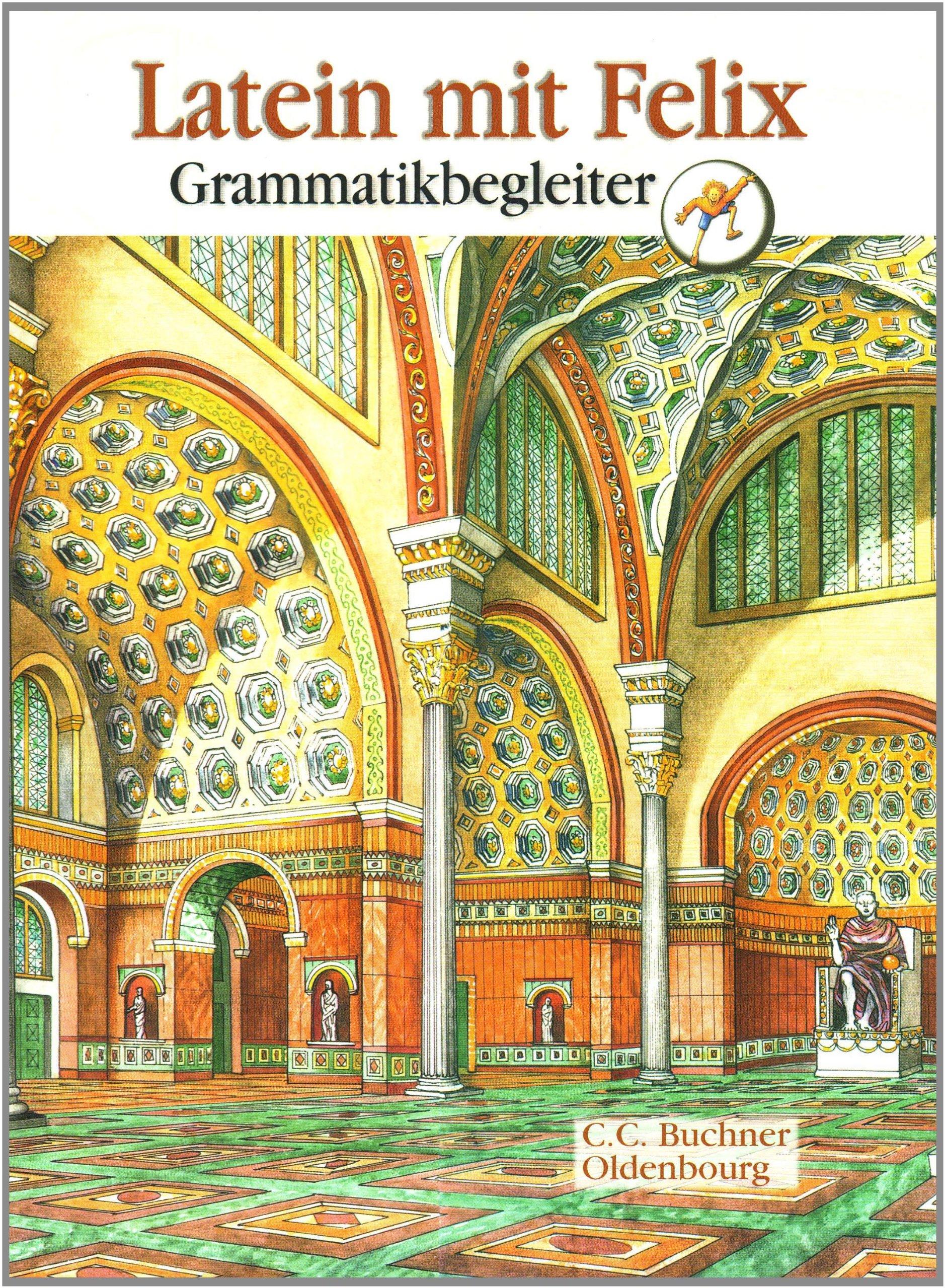 Latein mit Felix. Neues vierbändiges Unterrichtswerk für Latein: Grammatikbegleiter