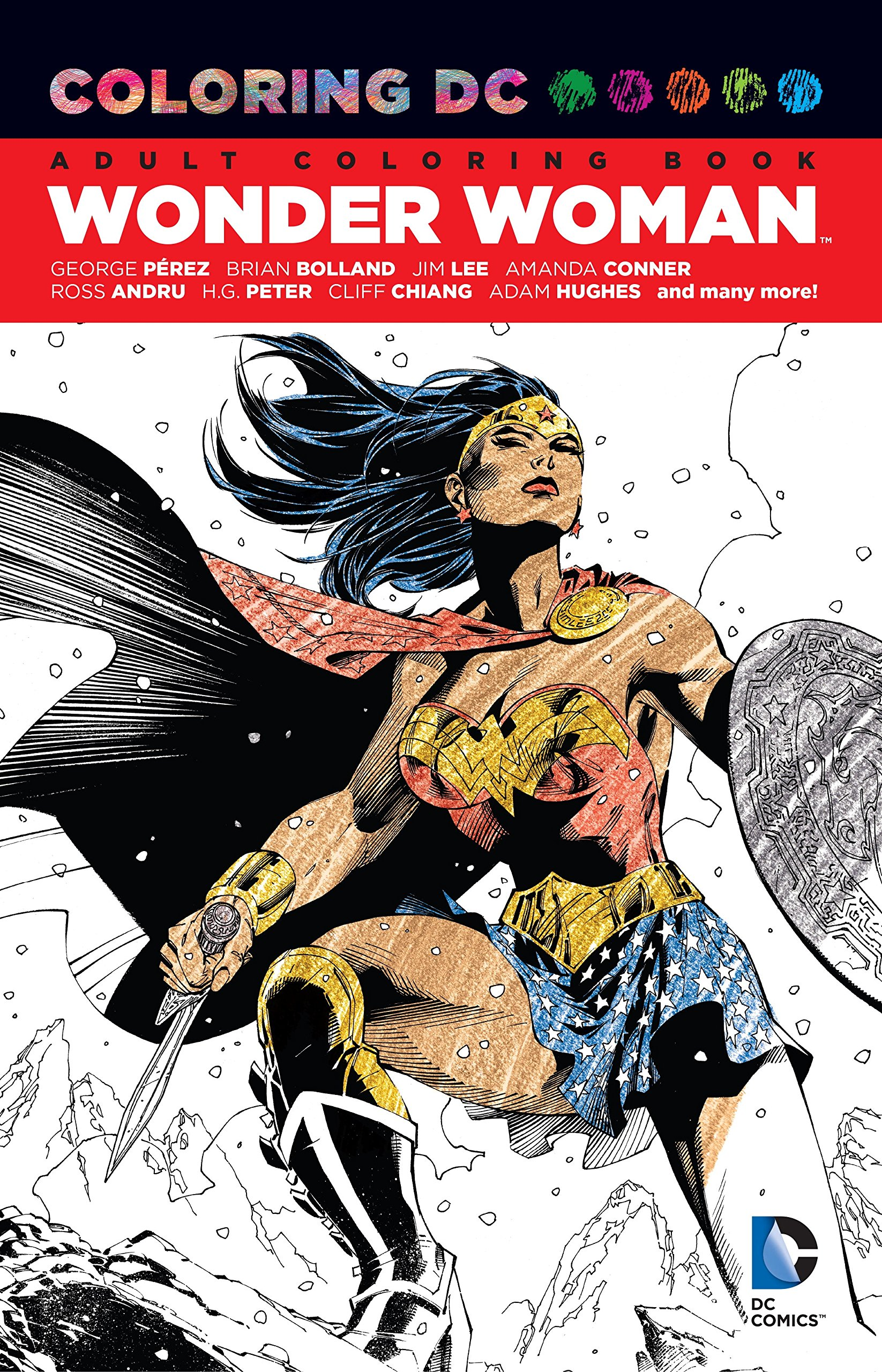 Coloring DC Wonder Woman Various product image