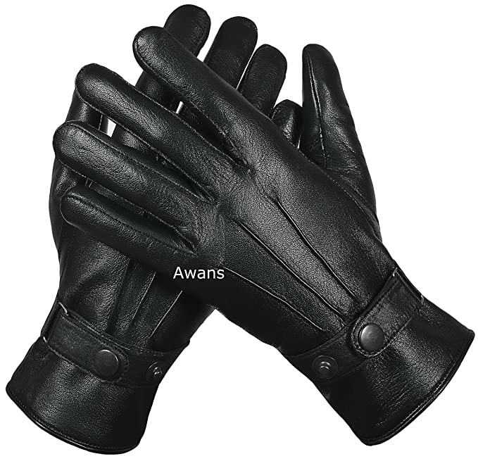 LADIES LEATHER GLOVES THERMAL THINSULATE LINED  DRIVING SOFT WARM WINTER XMAS