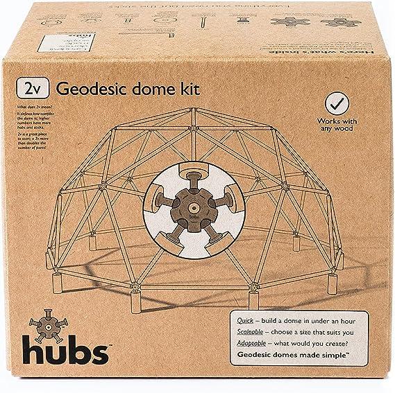 Juego de construcción de cúpula geodésica