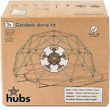 Juego de construcción de cúpula geodésica: Amazon.es: Jardín