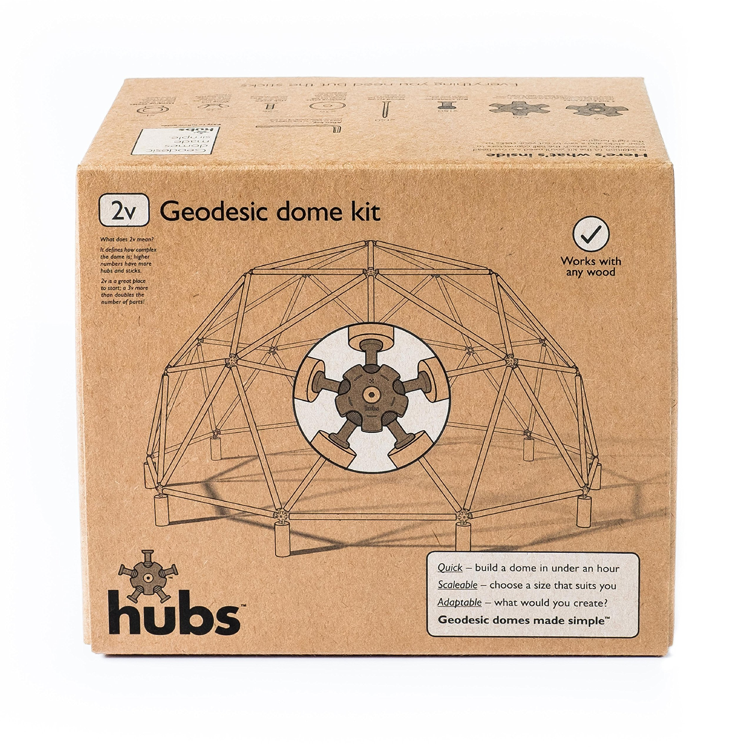 Geodesic Dome Kit by Hubs