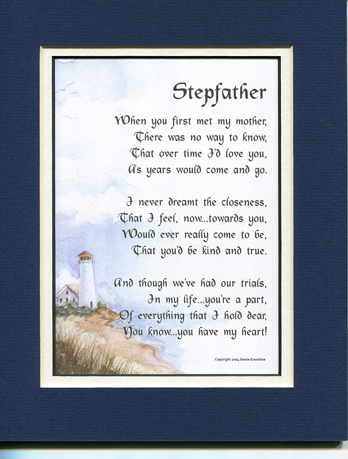 Amazon gift present poem for a stepfather 26 stepfathers amazon gift present poem for a stepfather 26 stepfathers 50th 60th 70th 80th birthday step dad poems posters prints xflitez Choice Image