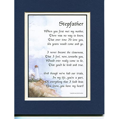 Gift Present Poem For A Stepfather 26 Stepfathers 50th 60th 70th 80th Birthday