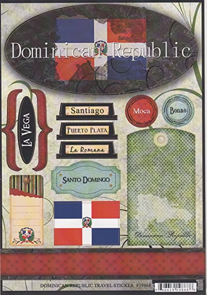 Amazon Dominican Republic World Travel Cardstock Scrapbook