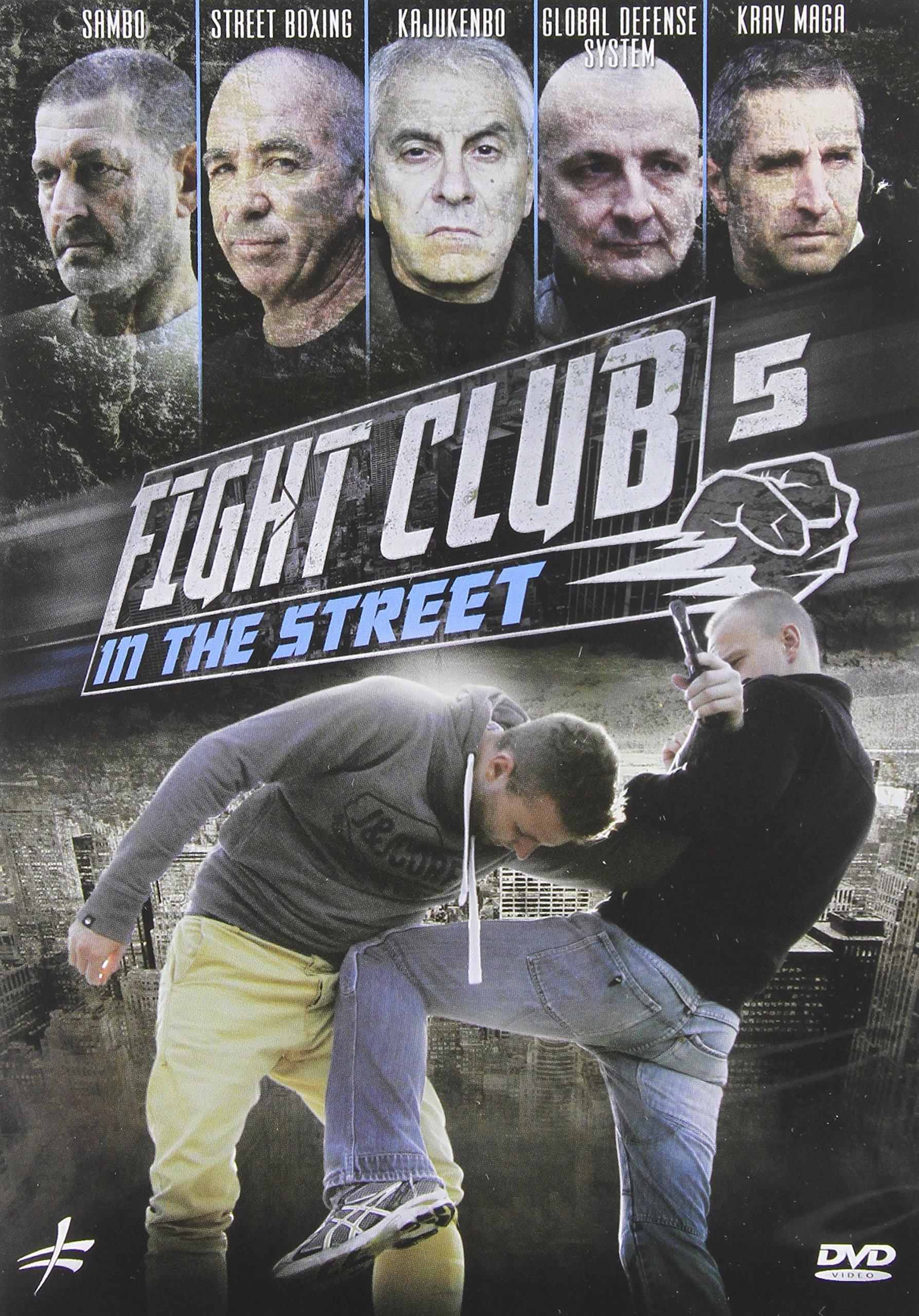 DVD : Fight Club In The Street 5: Krav Maga - Street (DVD)