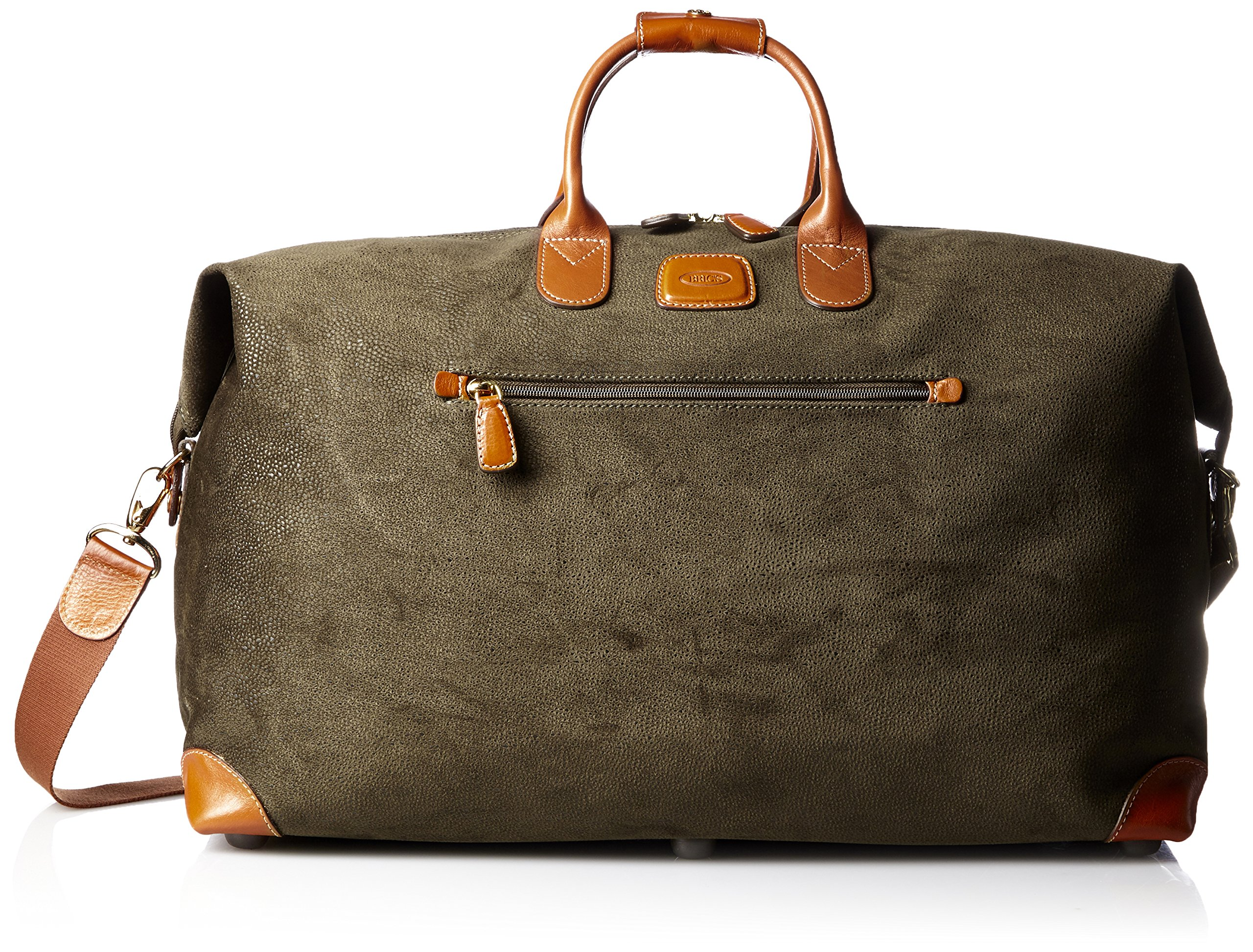 Bric's Luggage Life 22 Inch Cargo Duffle, Olive, One Size