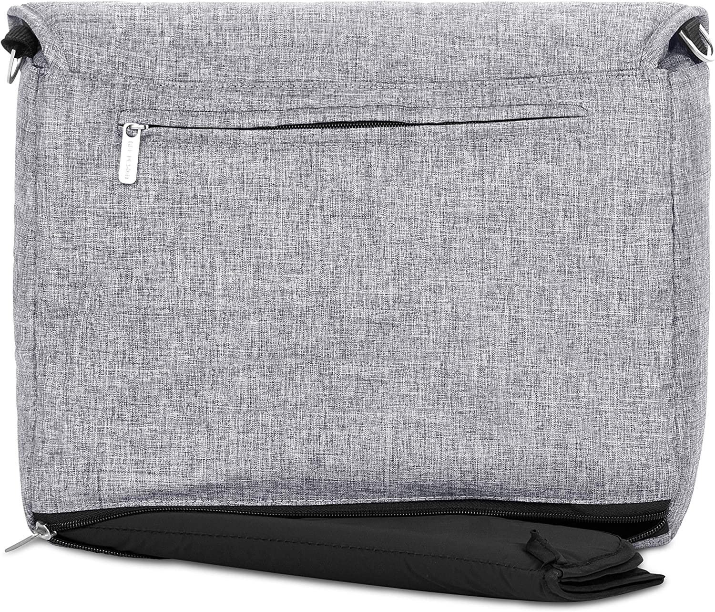 Borsa fasciatoio Easy aggancio al telaio o a tracolla graphite grey ABC Design