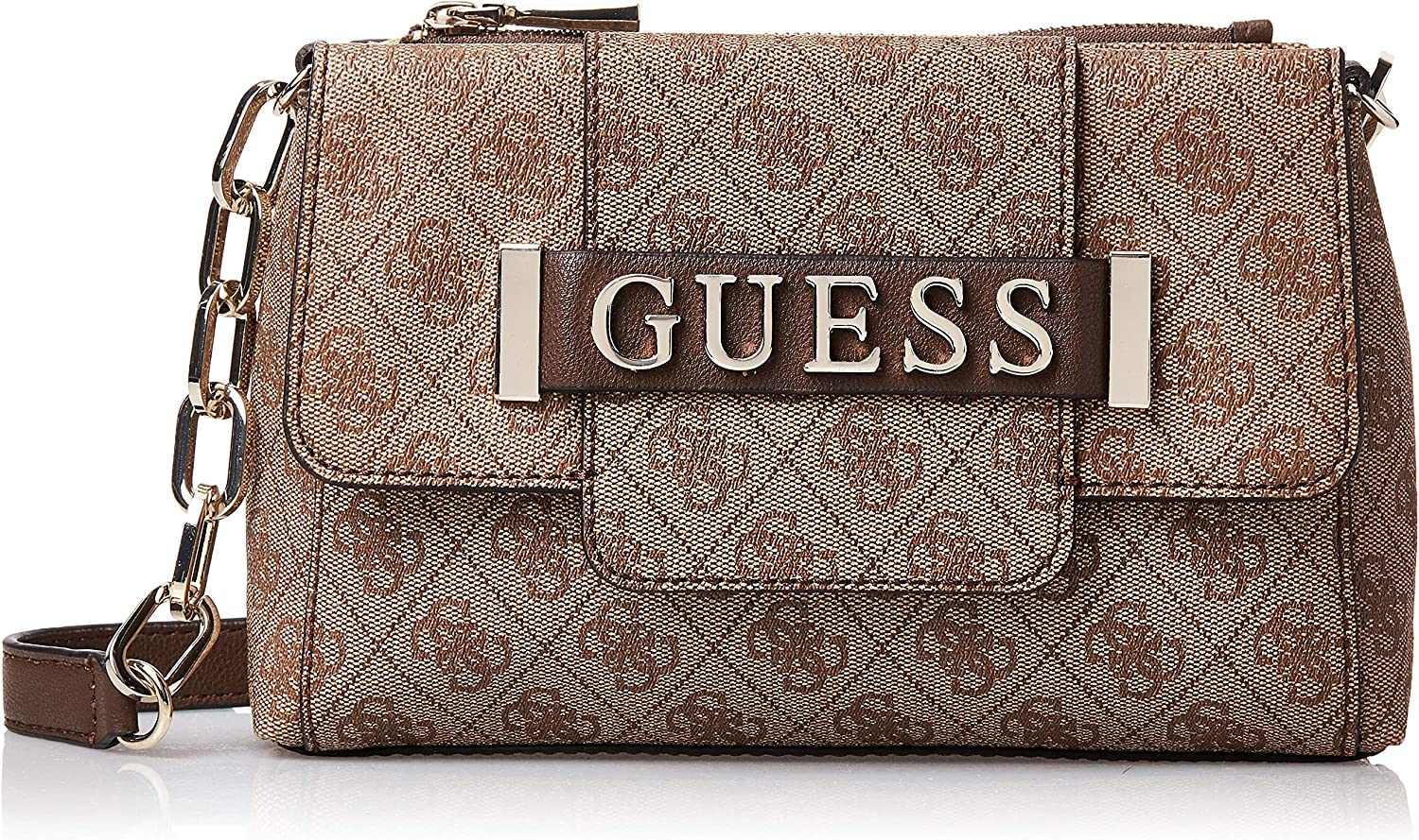 Borsa tracolla Guess Kerrigan society crossbody in ecopelle