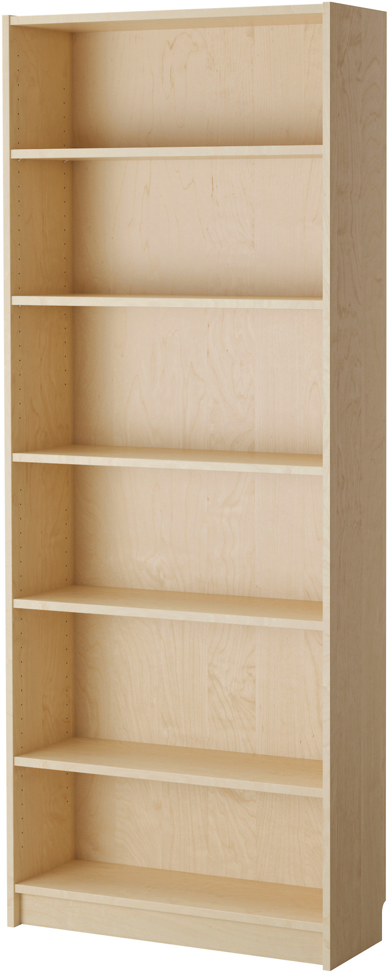 BILLY Bookcase - birch veneer - IKEA